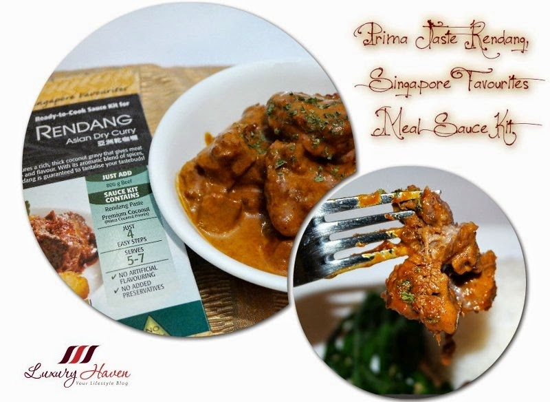prima taste rendang singapore favourites meal sauce kit review