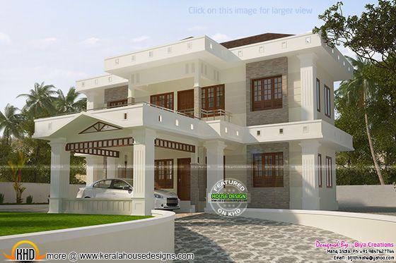 2300 square feet house plan