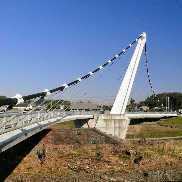 境川自転車道 鷺舞橋