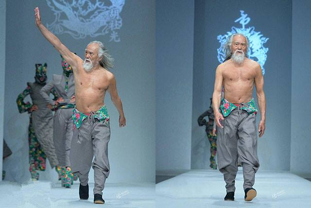 80 year old male model