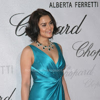PREITY ZINTA IN BLUE DRESS PHOTO