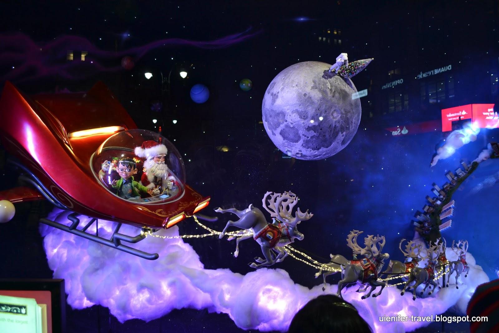 Рождественский Нью-Йорк 2014 - витрины  Macy's