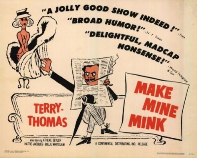 Classic Movie Ramblings: Make Mine Mink (1960)