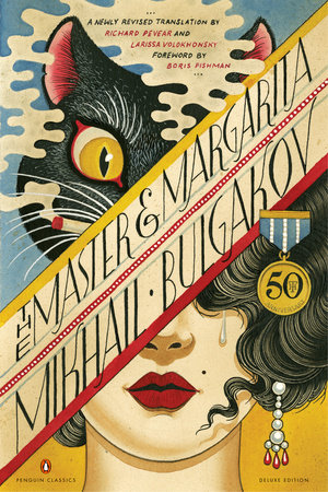 Book cover for Mikhail Bulgakov's The Master and Margarita in the South Manchester, Chorlton, and Didsbury book group