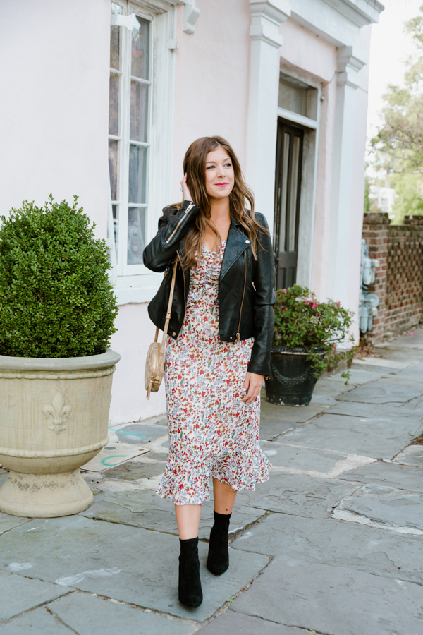 Wearing Florals into Fall | Chasing Cinderella