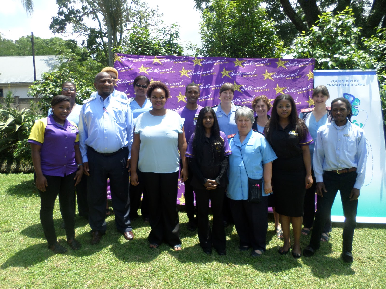 Hollywoodbets Dukwahs chose Msunduzi Hospice as their organisation of choice for Hollywoodbets' Social Responsibility Programme for 2016/2017.