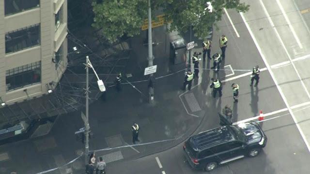 Califican de atentado ataque con cuchillo en Australia al hallar bombonas de gas en auto del agresor