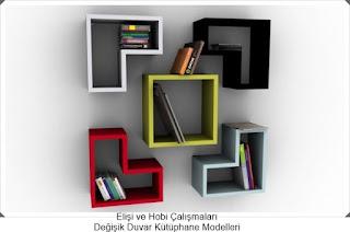 Kütüphane Modelleri  - Dekorasyon  12