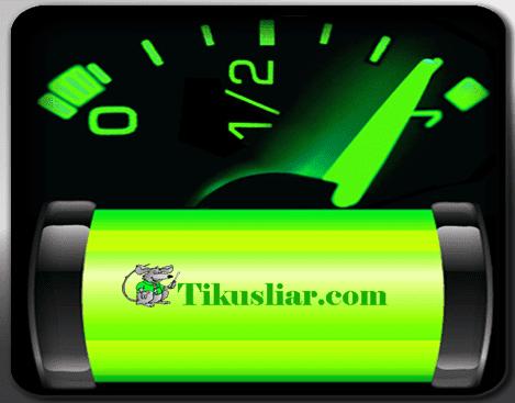Baterai tidak penuh-penuh saat di cas