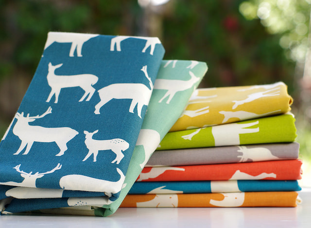 Mod Basics ~ Elk Family and Elephant Family by Jay-Cyn Designs for Birch Fabrics | Red Pepper Quilts