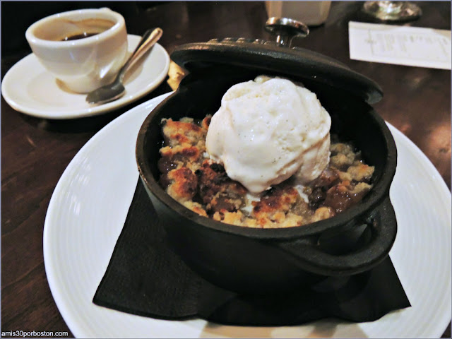 The Hourly Oyster House: Green Apple - Raspberry Crumble