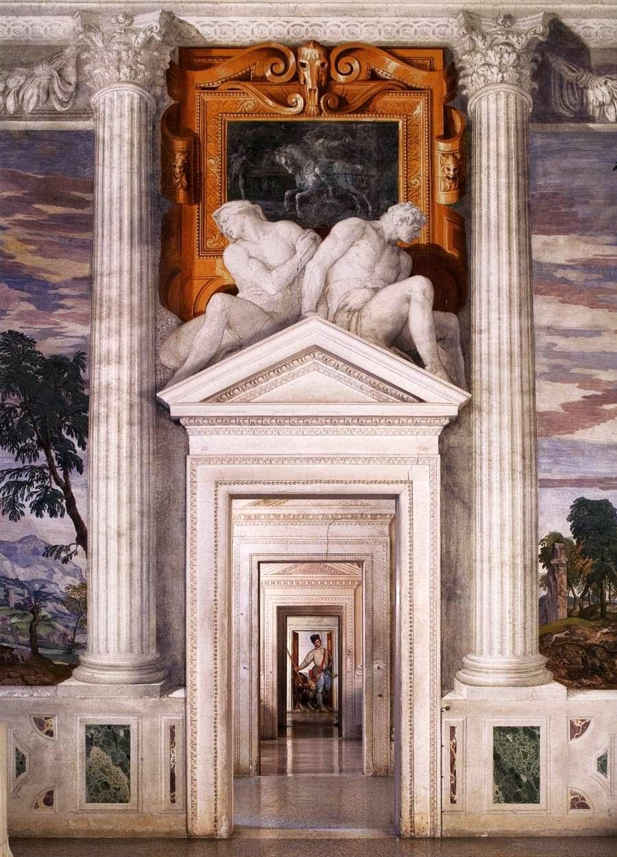 Palladio villa rotunda interior