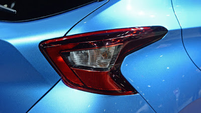 Nissan Micra 2017 Taillight