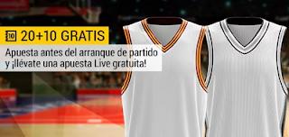 bwin promocion 10 euros NBA Cavs vs Spurs 25 febrero