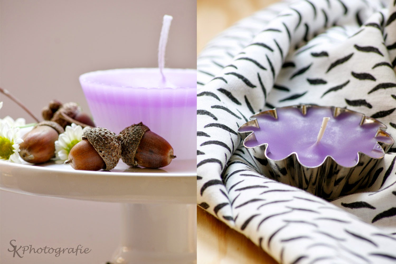 Diy Selbstgemachte Muffin Kerzen Alles Und Anderes