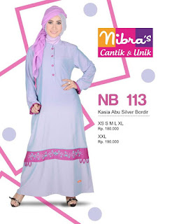 Gamis Nibras Nb113