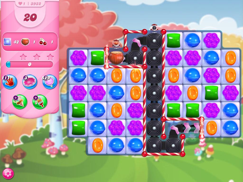 Candy Crush Saga level 3932