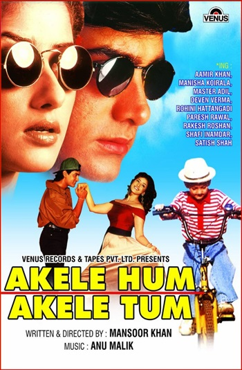 Download Akele Hum Akele Tum 1995 Hindi 480p HDRip 400mb
