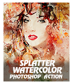 \  - SplaWatcolP - Concept Mix Photoshop Action