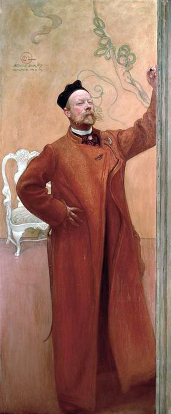 Carl Olaf Larsson, Self Portrait, Portraits of Painters, Fine arts