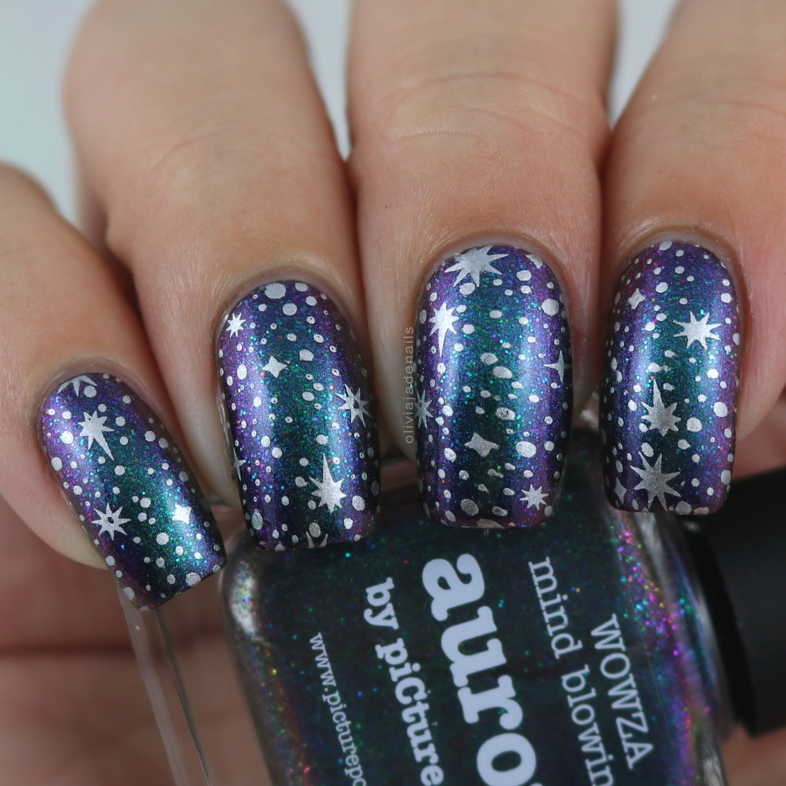 Olivia Jade Nails: Challenge Your Nail Art: Galaxy Nails