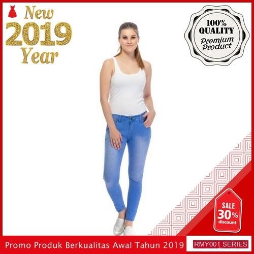 RMY037J25 Jeje Jeans Celana Jeans Keren Reguler Ice BMGShop