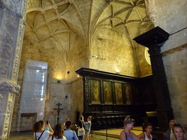 Mosteiro dos Jerónimos - Coro-Alto