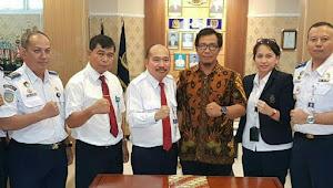 Forum Komunitas Maritim Berau Tanda Tangani MOU Dengan STIP Jakarta