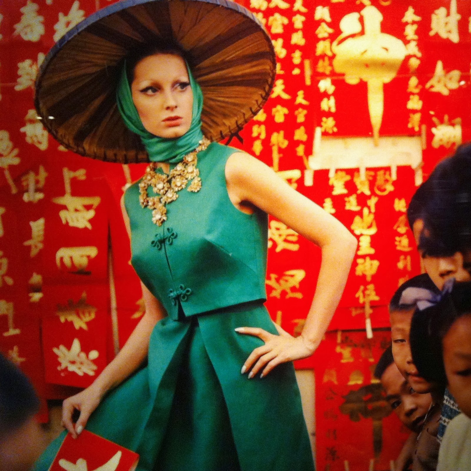 Duddell's Foreign Presence with 1960's fashion shoot in Hong Kong