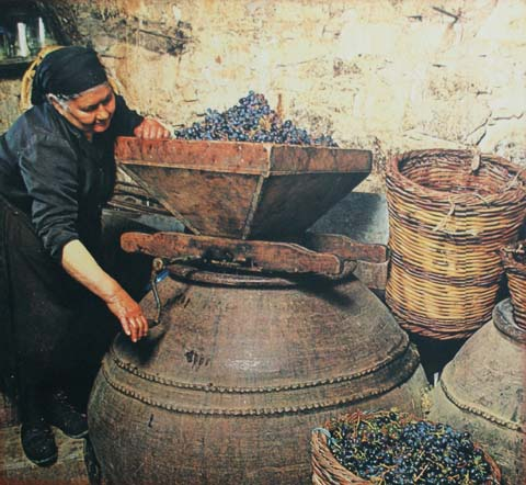 Old world winemaker