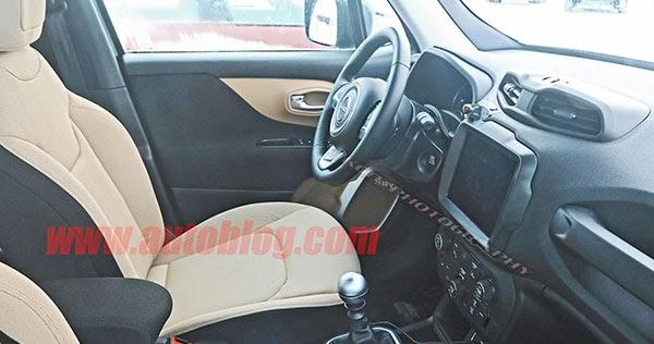 Burlappcar: 2019 Jeep Renegade interior