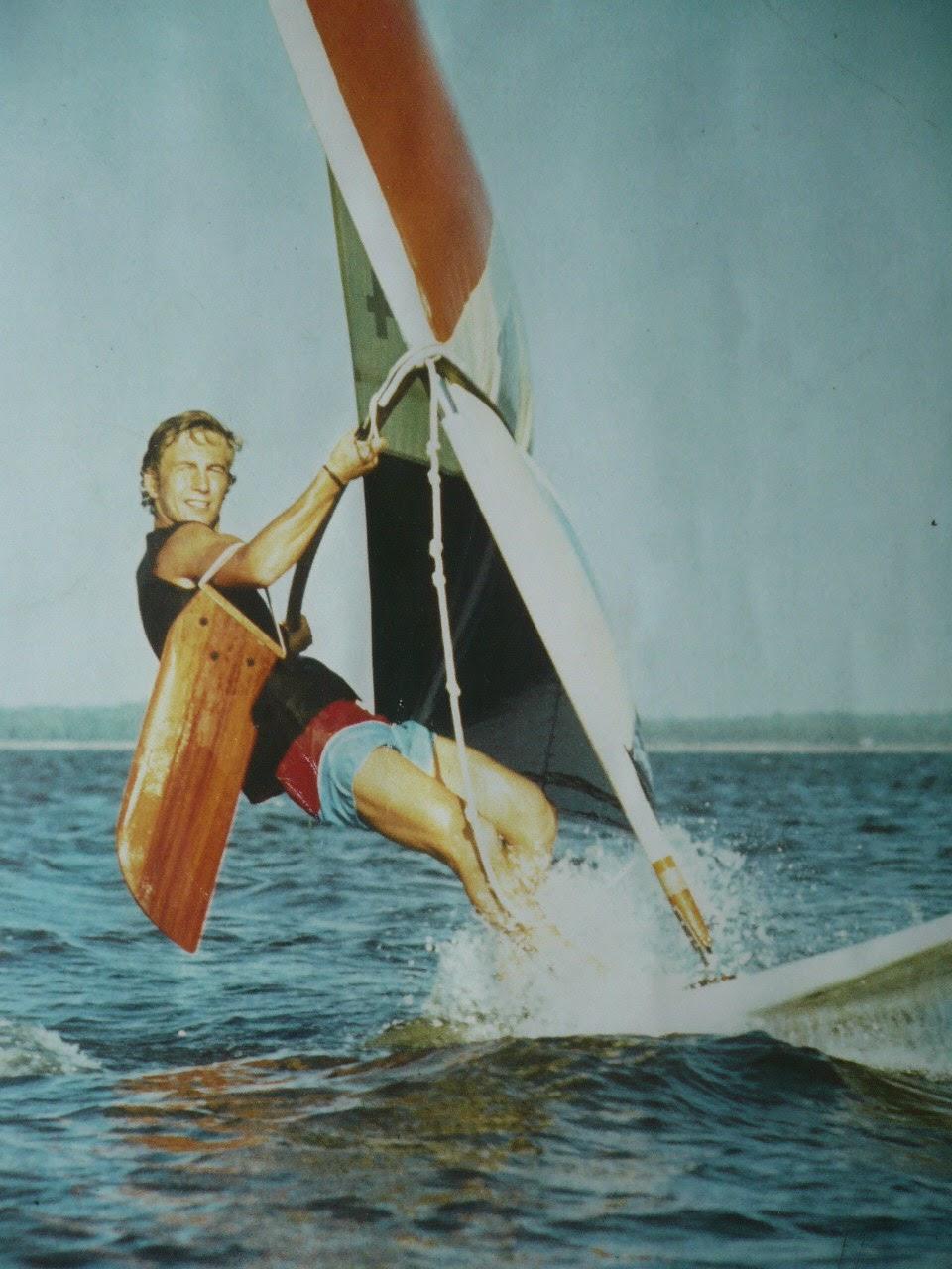 Pierre-Yves Gires pionnier et boss de la planche à voile en Europe