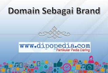 Gambar Posting Domain Sebagai Brand