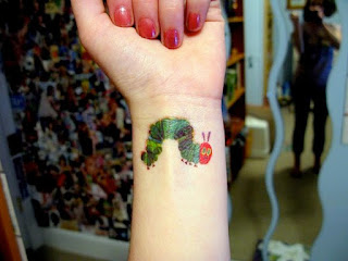 The Very Hungry Caterpillar Tattoo - 10 Picture Book Tattoos