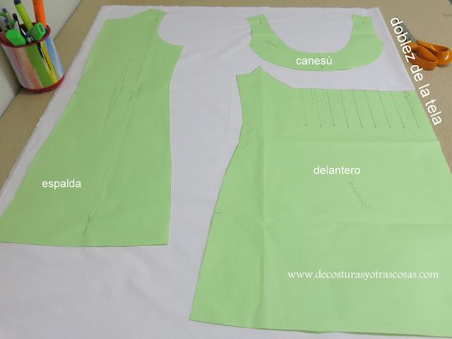 corte y confección blusa sin mangas