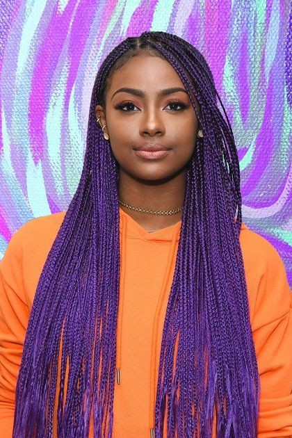 Colourful Box Braids Style You Can Try Fashenista