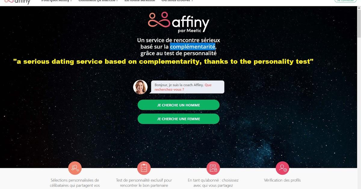 Affiny par Meetic