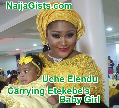 uche elendu 2nd child baby daddy