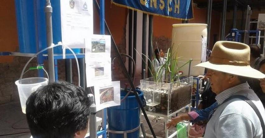 UNSCH: Presentan propuestas para purificar agua desde la Universidad Nacional de San Cristóbal de Huamanga