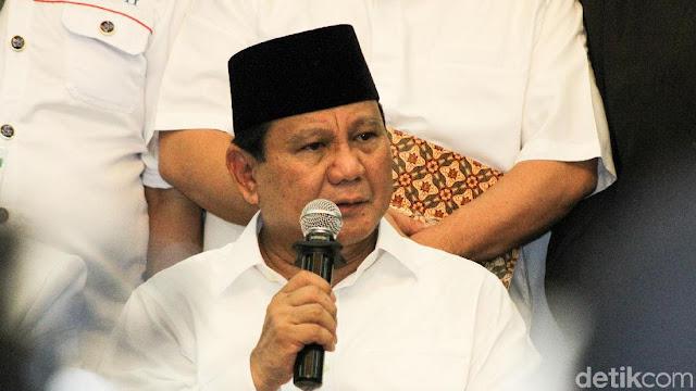 Prabowo: Jika Saya Sudah Berhasil Kembalikan Hak-hak Rakyat, Kemudian Tuhan Memanggil, Saya akan Pergi dengan Tersenyum