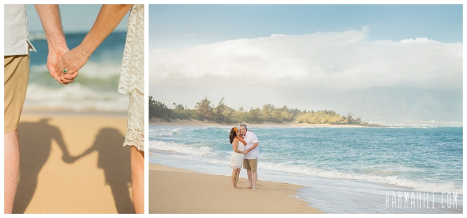 Maui Couples Beach Portraits
