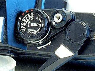 Olympus OM10, Auto mode selector