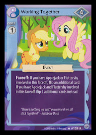 MLP Working Together Premiere CCG Card