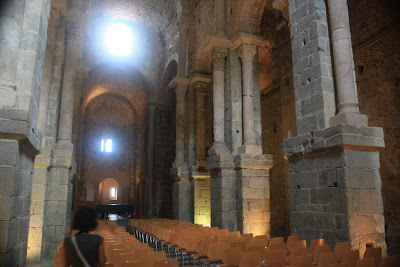 Church of Sant Pere de Rodes in Costa Brava