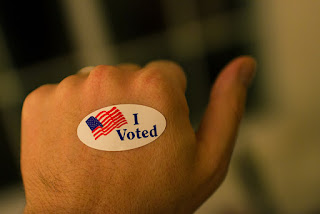 "The ""I Voted"" Sticker"