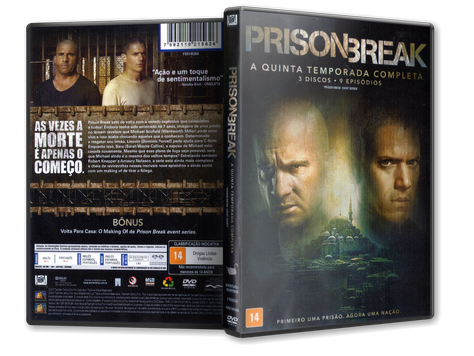Capa DVD Prison Break - A Quinta Temporada