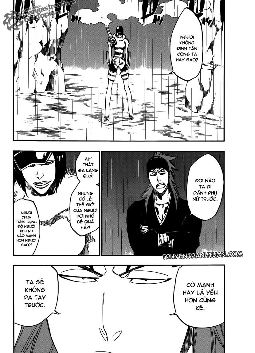 Bleach chapter 465 trang 9