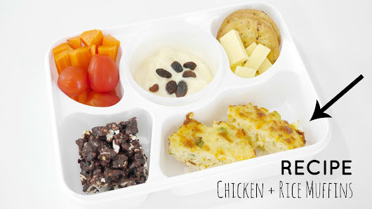 StyleNovice: Bento Lunchbox Ideas and Recipe #1 - Chicken Rice Muffins