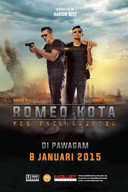 Filem Romeo Kota Gandingan Aaron Aziz Dan Nabil Ahmad