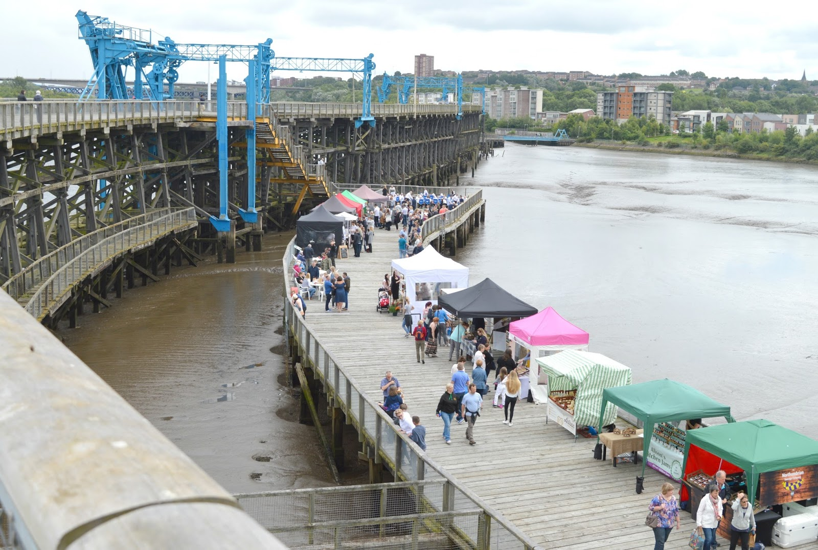 The Staiths Food Market, Dunston Staithes
